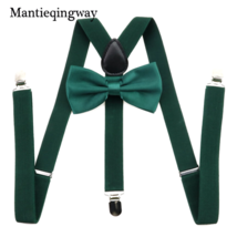 Suspender and Bow Tie Combo Set Tux Classic Wedding Prom Party for Men 2... - $4.92