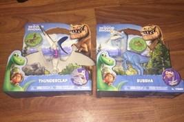 Thunderclap & Bubbha Action Figures Disney Pixar The Good Dinosaur NEW - $22.99