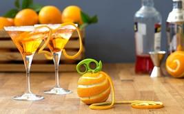 Citrus Zester & Peeler Original Premium Design Home Food Cocktails Decor... - £10.96 GBP