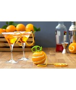 Citrus Zester & Peeler Original Premium Design Home Food Cocktails Decor... - $14.00