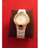 Guess Status In The Round - Women's Watch. Rose Gold. Silicone Strap. Wi... - $60.00