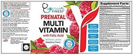 Doctors Finest Prenatal Multivitamin W/Folic Acid & Iron Gummies - Vegetarian, G image 4