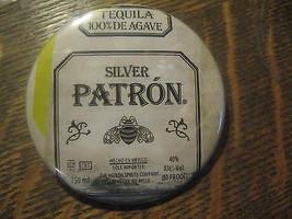 Patron Silver Agave Tequila Anuncio Promo Botón Pin - $19.70