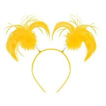 Amscan 399414.09 Tinsel Wrapped Ponytails Headbopper Accessory, Yellow, ... - €3,97 EUR