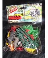 New Vtg 1980s Wild Animal Kingdom Plastic Action Figure World Lot RandTo... - $8.00