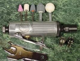 Mini Air Die Grinder Tool Kit w/ Accesories 1/4 & 1/8 Brand New Grind Sand Inch - $19.99