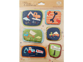 K&Company Life's Little Occasions Construction Stickers #30-587328