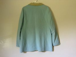Louis Feraud Finition Main Baby Blue Blazer Jacket Made in Italy No Size Tag image 5