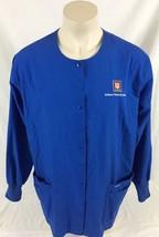 Indiana University Health Blue Medical Scrubs Long Sleeve Landau Size 2XL - $19.99