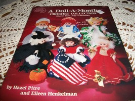 "A Doll-A-Month Crochet Collection Volume Two:July-December for 13"" Dolls - $8.00"