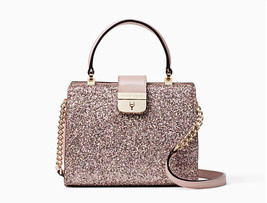 Kate Spade Mini Kirin Sunset Lane Glitter Crossbody Bag Rose Gold NWT - $107.91