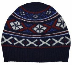 Brooks Brothers Unisex Nordic Cable Knit Ribbed Merino Wool Beanie, O/S,... - $49.01