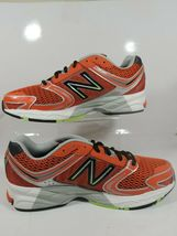New Balance Men's Shoes M770CT3 Athletic Running Sneakers Red Black Mesh image 7