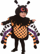 Morris Costumes Infant Polyester Creepy Spider Crawl Toddler Suit 2-4T. ... - €31,45 EUR