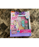 JoJo Siwa :: Glitter Nails - Glitter Manicure Kit w/ Custom Decals - $14.84