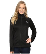 THE NORTH FACE New Agave Buttery Soft Fleece Jacket Zip Coat Black XL - $65.43