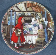 Once Upon A Time Little Red Riding Hood Karen Pritchett Collector Plate ... - $15.97