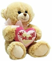 keel toys mothers day or any occassion bear with heart 35cm - $15.99
