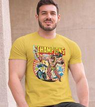 The Champions T shirt classic Marvel Comics Hercules Iceman Angel graphic tee image 3