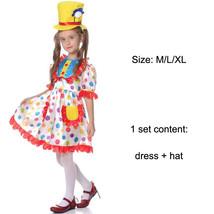 TPDT* beauty clown Halloween Costumes Kids Children Funny Clown Costume ... - £33.99 GBP