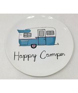 Bath & Body Works Happy Camper Plate Retro RV Large 3 Wick Candle Holder... - $13.86