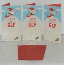 Hallmark XMH 5959 Santa Presents Snow Pile Christmas Gift Card Holder Package 3 image 1
