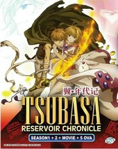 Tsubasa: RESERVoir CHRoNiCLE Season 1 + 2 + Movie + 5 OVA DVD Ship From USA