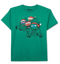 NickelodeonTeenage Mutant Ninja Turtles Boys' Silly X-Mas T-Shirt, Size XL - $13.85