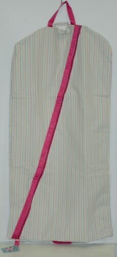 Oh Mint 808MXR9999STRIP Rainbow Seersucker Hanging Garment Bag