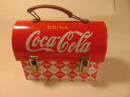 Miniature Coca Cola, Lunch Box. - $12.99