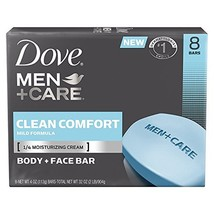 Dove Men+Care Body and Face Bar, Clean Comfort 4 oz, 16 BARS - $41.83