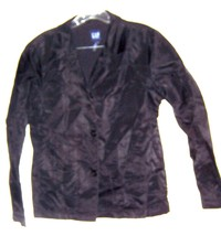 Sz S - Gap Black Nylon Short Windbreaker Jacket  - $28.49