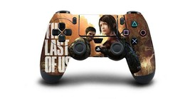 The Last of Us Dualshock 4 Controller PS4 Skin Sticker Decal Vinyl for Sony PS4 - $7.91