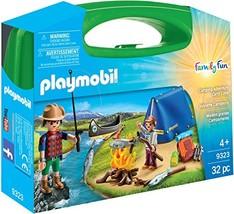 PLAYMOBIL Camping Adventure Carry Case Building Set - $14.80