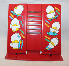 Patsy Duck Sony Creative Products Inc Metal Book Folding Stand Red 1989 ... - $50.57
