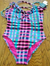 Hula Honey Multi Color One Piece Swimwear Size XS image 1