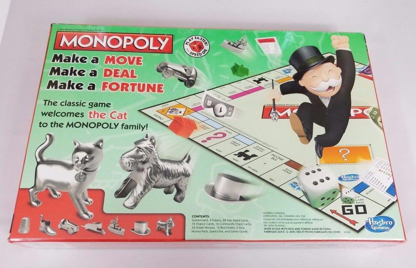 MONOPOLY SPEED DICE SET