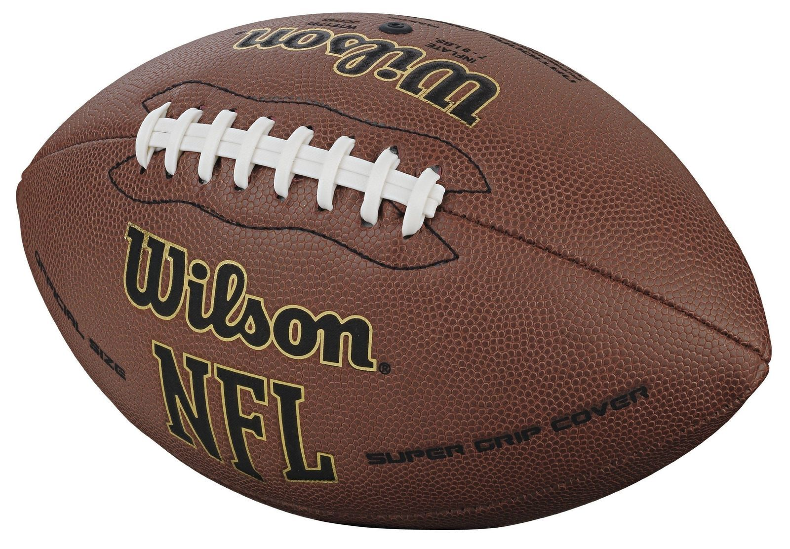 Wilson NFL Football Official Size Super Grip and similar items. 10 59a588bfb