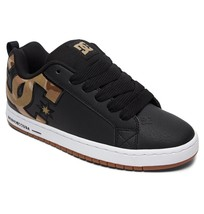 MENS DC COURT GRAFFIK SE SKATEBOARDING SHOES NIB BLACK MILITARY CAMO    ... - $62.99