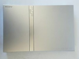 Sony PlayStation 2 Satin Silver Console System Model SCPH-77001 - $107.51