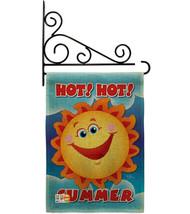 Hot Summer Burlap - Impressions Decorative Metal Fansy Wall Bracket Gard... - $33.97