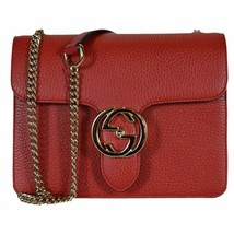 NWT GUCCI INTERLOCKING GG CROSSBODY CHAIN SHOULDER HANDBAG BAG 510304 - $970.20
