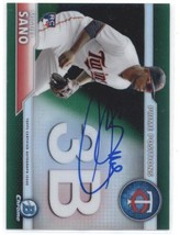 2016 Bowman Chrome Prime Position Autographs Refractors Green Miguel San... - $30.00