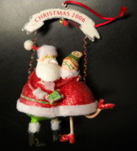 Department 56 Christmas Ornament 2006 Christmas With The Clauses Limited... - $16.99