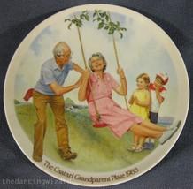 The Swinger Joseph Csatari Grandparent Collector Plate 1983 COA Vintage - $14.95