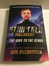 Star Trek Discovery The Way to the Stars Hardcover Book - $4.95