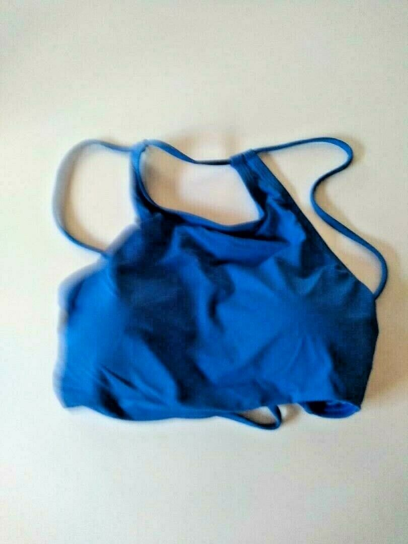 Tommy Bahama Pearl High Neck Bra Cobalt Sea Size Small