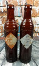 2 Vintage Orange Crush Bottles - $9.99
