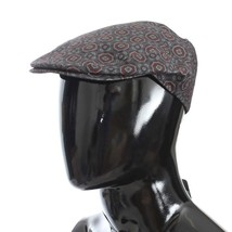 Dolce & Gabbana Gray Baroque Cotton Newsboy Hat - $87.25