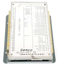 GEMCO QUIK-SET III 1989-A-32-R-12-S-E-X CONTROLLER 1989A32R12SEX